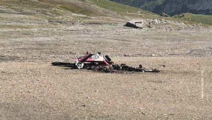 «Никто не выжил»: старинный самолет в Швейцарии потерпел крушение