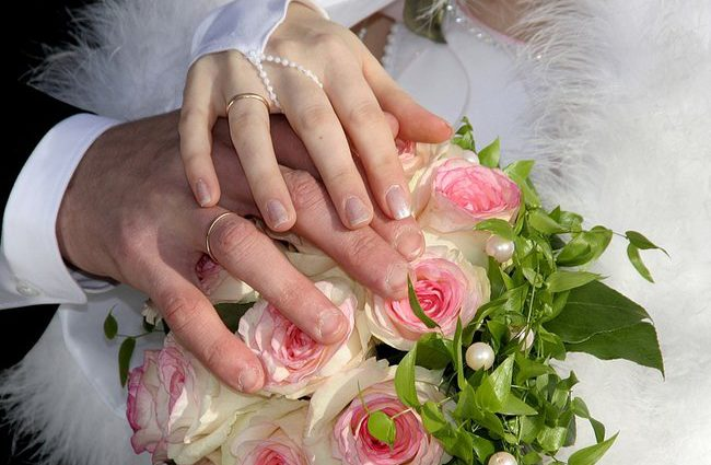 Это самая странная свадьба года в мире
