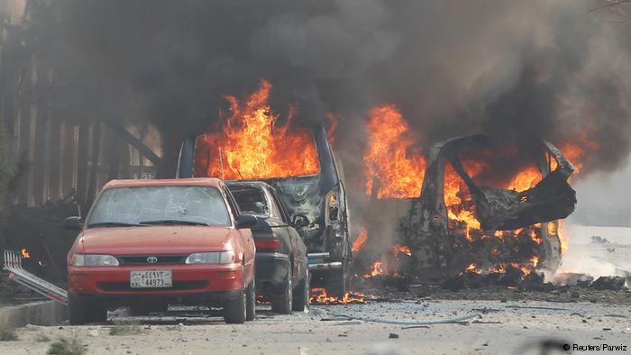 Террорист унес более 14 жизней, взорвав себя в спортивном клубе Афганистана