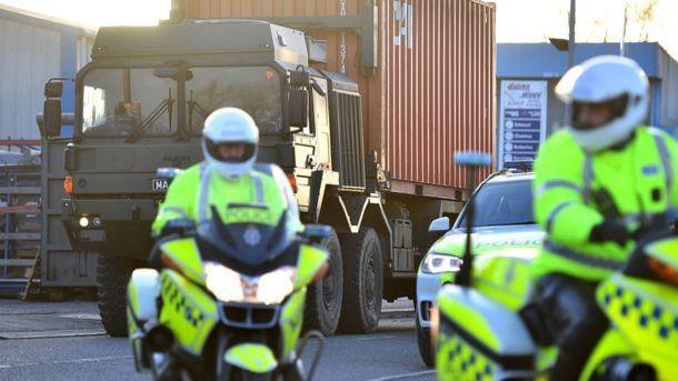 В Лондоне произошло нападение с применением ядовитого вещества, трое пострадавших
