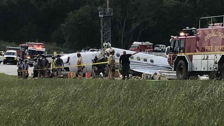 В США разбился самолет: погибли пилоты