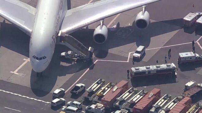 Подробности о карантине самолета в США из-за массового недомогания его пассажиров и членов экипажа