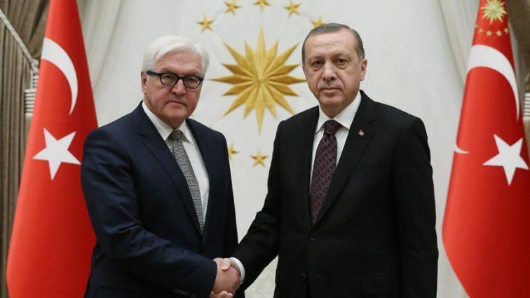 Эрдоган встретился с президентом Германии