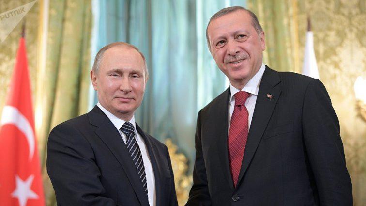 Путин и Эрдоган. Стало известно, когда состоится встреча двух лидеров