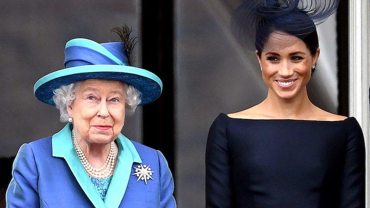 Королева Елизавета ІІ сделала выговор Меган Маркл и велела поменять свои привычки