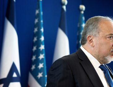 Министр обороны Израиля обьявил о своей отставке