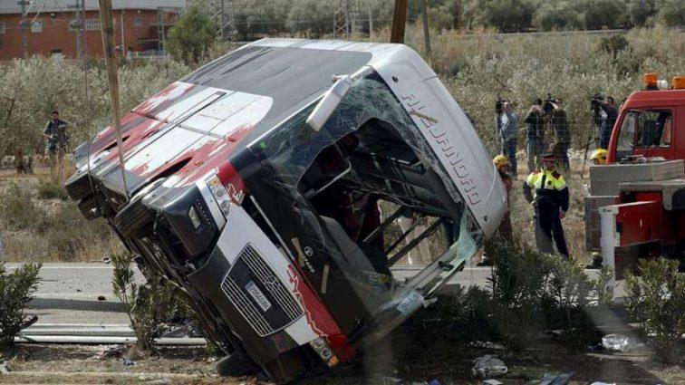 «Погибло 13 человек»: Автобус со спортсменами попал в жуткую аварию