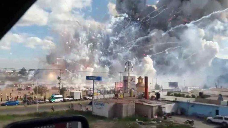 В Мексиканском городе множество жертв из-за полученных ранений в связи со взрывом фейерверков