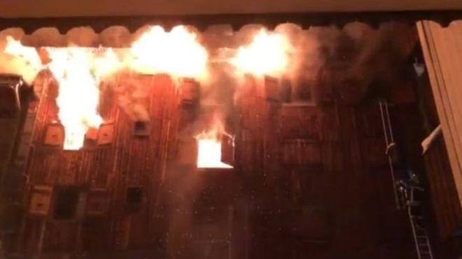 Куршевель в огне: на горнолыжном курорте погибли люди