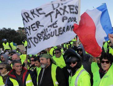 Во Франции хотят ввести жесткие законы против «желтых жилетов»