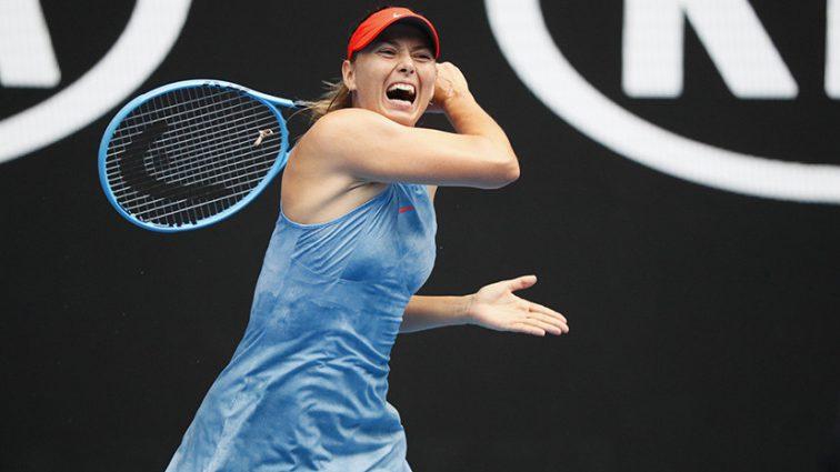 Марию Шарапову вывели из равновесия вопросы прессы после вылета с Australian Open