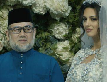 Первый случай в истории страны: Женившийся на «Мисс Москва» король Малайзии отрекся от престола