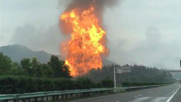 В России прогремел мощный взрыв на газопроводе