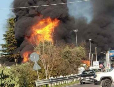 Мощный взрыв на заводе в Мексике, есть жертвы