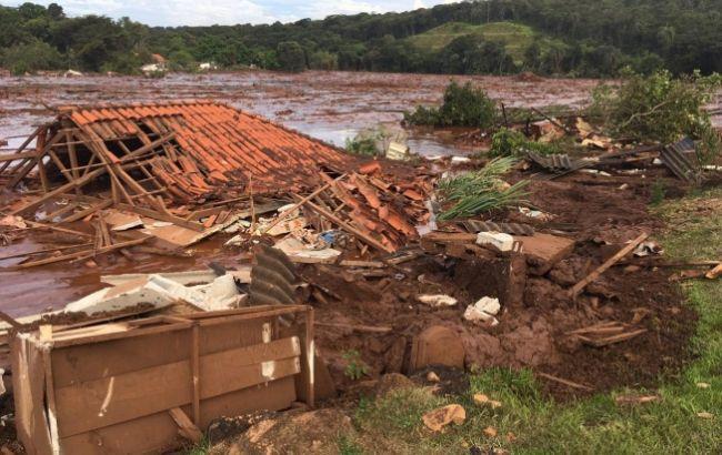 Число жертв в результате прорыва дамбы в Бразилии возросло до 176