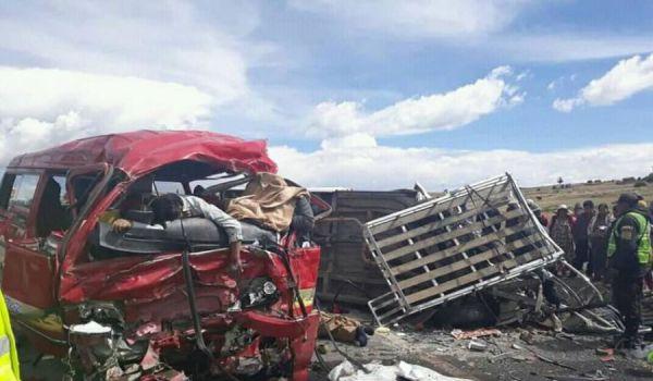 В Боливии произошло страшное ДТП: автобус столкнулся с грузовиком, множество жертв