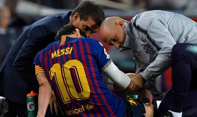 Участие в матче под вопросом: Лионель Месси получил серьезную травму