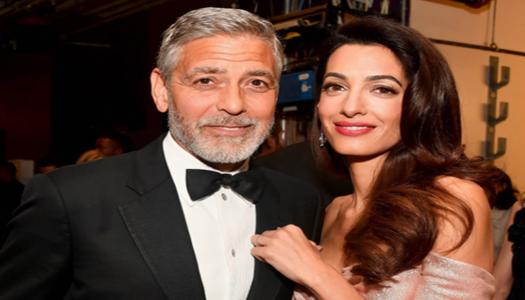 Уже передумали разводиться? Амаль и Джордж Клуни посетили вместе ресторан