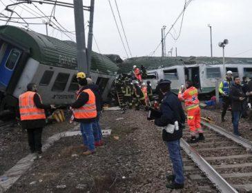 Столкновение двух поездов в Испании: полсотни человек в больнице, много раненых