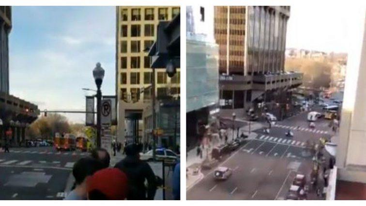 «Из-за взрыва»: В Вашингтоне эвакуировали станцию метро