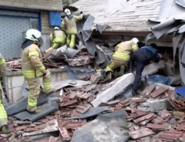 Число жертв после обвала здания в Стамбуле увеличилось