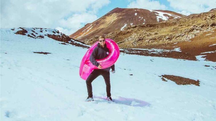 Аномальные морозы в США: даже солнечные Гавайи неожиданно засыпало снегом